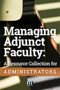 Books on Managing Adjunct Faculty: A Resource Collection for Administrators