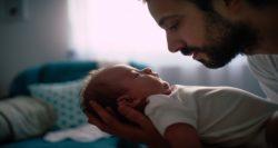 work-life satisfaction, work-life balance, father and newborn