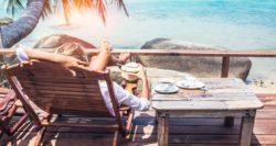 work-life balance, vacation, beach