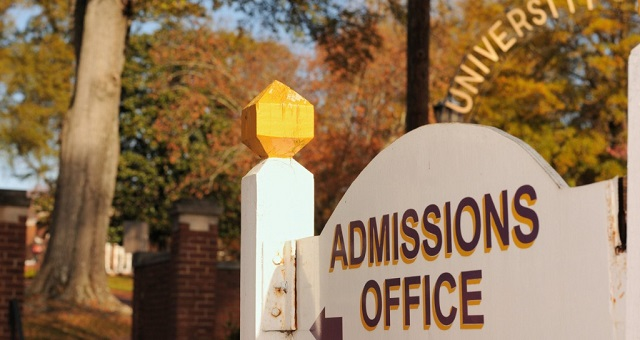 College Admissions Experience