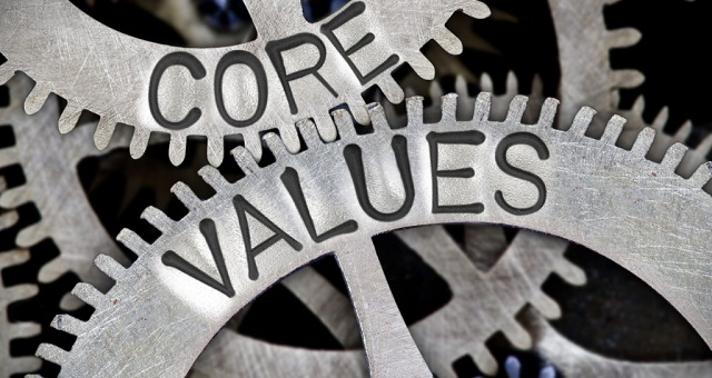 Values-driven department